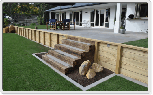 Design Landscape Timber Retaining Wall | Sha-Excelsior.Org