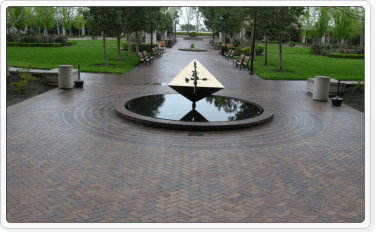 public area pavers